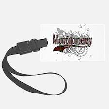 Montgomery Tartan Grunge Luggage Tag