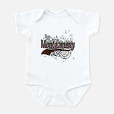 Montgomery Tartan Grunge Infant Bodysuit