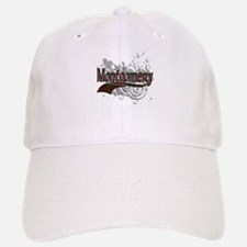 Montgomery Tartan Grunge Baseball Baseball Cap
