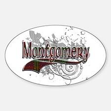 Montgomery Tartan Grunge Decal