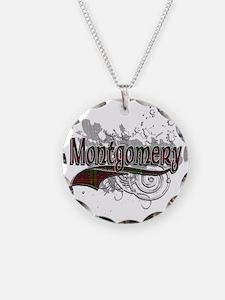 Montgomery Tartan Grunge Necklace