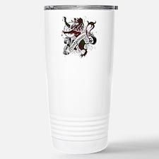 Montgomery Tartan Lion Stainless Steel Travel Mug