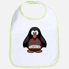 Montgomery Tartan Penguin Bib