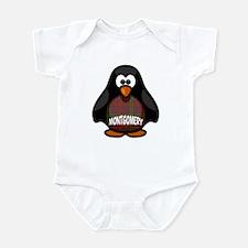 Montgomery Tartan Penguin Infant Bodysuit