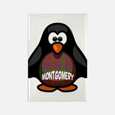Montgomery Tartan Penguin Rectangle Magnet