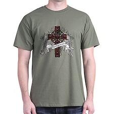 Montgomery Tartan Cross T-Shirt