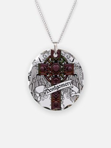 Montgomery Tartan Cross Necklace