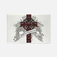 Montgomery Tartan Cross Rectangle Magnet