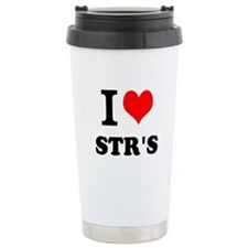 I Love STRs Travel Mug