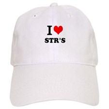 I Love STRs Baseball Baseball Cap
