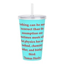 huxley8.png Acrylic Double-wall Tumbler