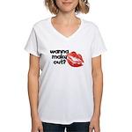 Counter Tee-Design Women's V-Neck T-Shirt