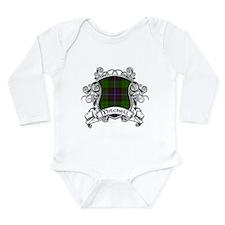 Mitchell Tartan Shield Long Sleeve Infant Bodysuit