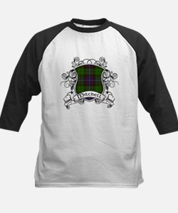 Mitchell Tartan Shield Kids Baseball Jersey