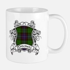 Mitchell Tartan Shield Mug