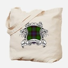 Mitchell Tartan Shield Tote Bag