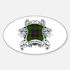 Mitchell Tartan Shield Decal