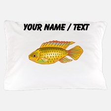 Custom Gold Cichlid Pillow Case
