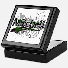 Mitchell Tartan Grunge Keepsake Box