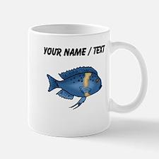 Custom Blue Cichlid Mugs