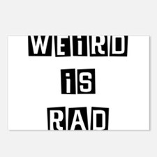 Weird is Rad Postcards (Package of 8)