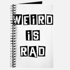 Weird is Rad Journal