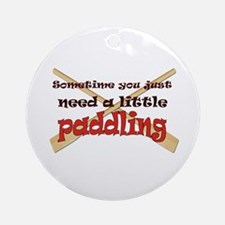 A little paddling Ornament (Round)