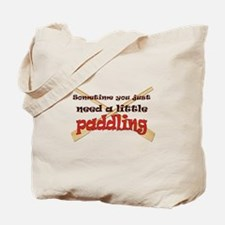 A little paddling Tote Bag