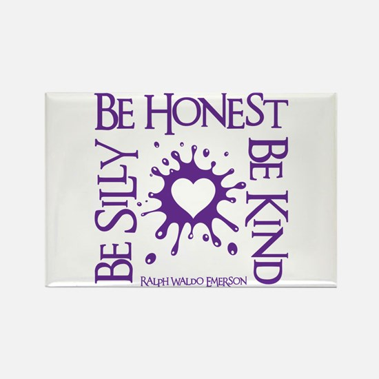 SILLY-HONEST-KIND Rectangle Magnet