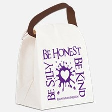 SILLY-HONEST-KIND Canvas Lunch Bag