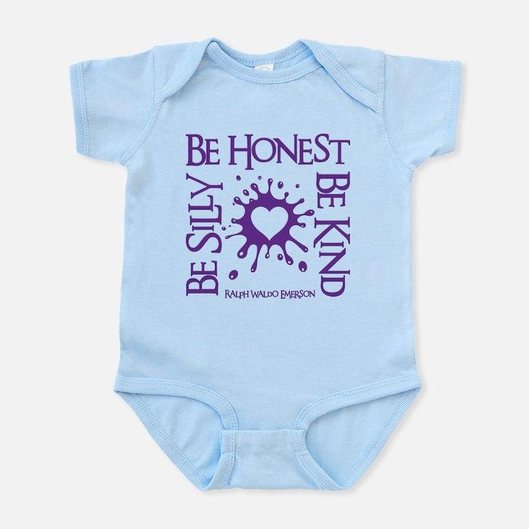 SILLY-HONEST-KIND Infant Bodysuit