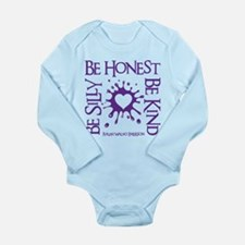 SILLY-HONEST-KIND Long Sleeve Infant Bodysuit