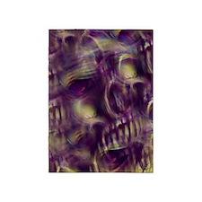 Ethereal Skull 5'x7'Area Rug