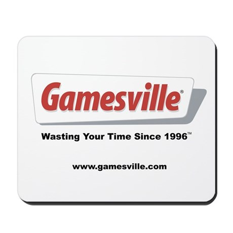 "Gamesville ""Wasting Time"" Mousepad by gamesville"