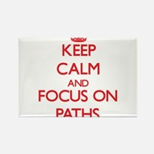 Keep Calm and focus on Paths Magnets