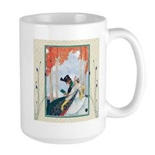 Georges Plank Lovers In Park Mugs