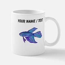 Custom Blue Betta Fish Mugs