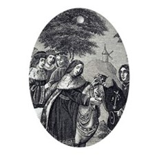 1378. Engraving taken from a 15th ce Oval Ornament