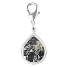 1378. Engraving taken from  Silver Teardrop Charm