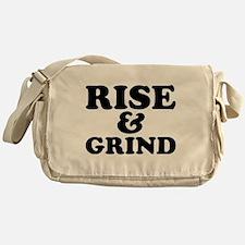 Rise And Grind Messenger Bag