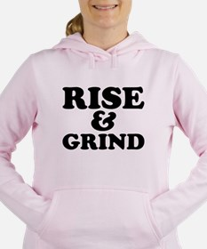Rise And Grind Women's Hooded Sweatshirt