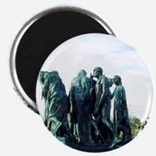 The Burghers of Calais, by Rodin. FRANCE. Magnet