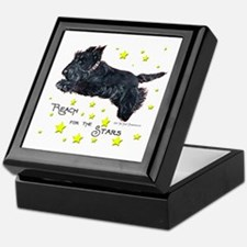 Scottish Terrier Star Keepsake Box