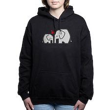 Elephants (4) Women's Hooded Sweatshirt