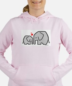 Elephants (4) Women's Hooded Sweatshirt