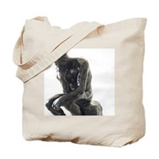 The Thinker, Rodin. Tote Bag