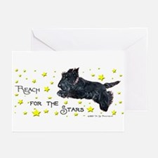 Scottish Terrier Star Greeting Cards (Pk of 10