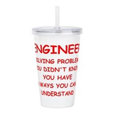 ENGINEER3.png Acrylic Double-wall Tumbler