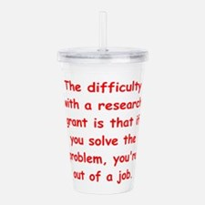 research.png Acrylic Double-wall Tumbler