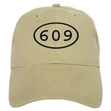 609 Oval Baseball Baseball Cap